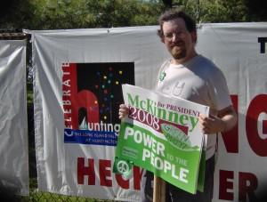 Ian Wilder, Green Party activist